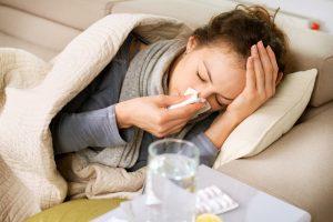 Es ist besonders wichtig, sich während einer Erkältung, viel Ruhe zu gönnen.
