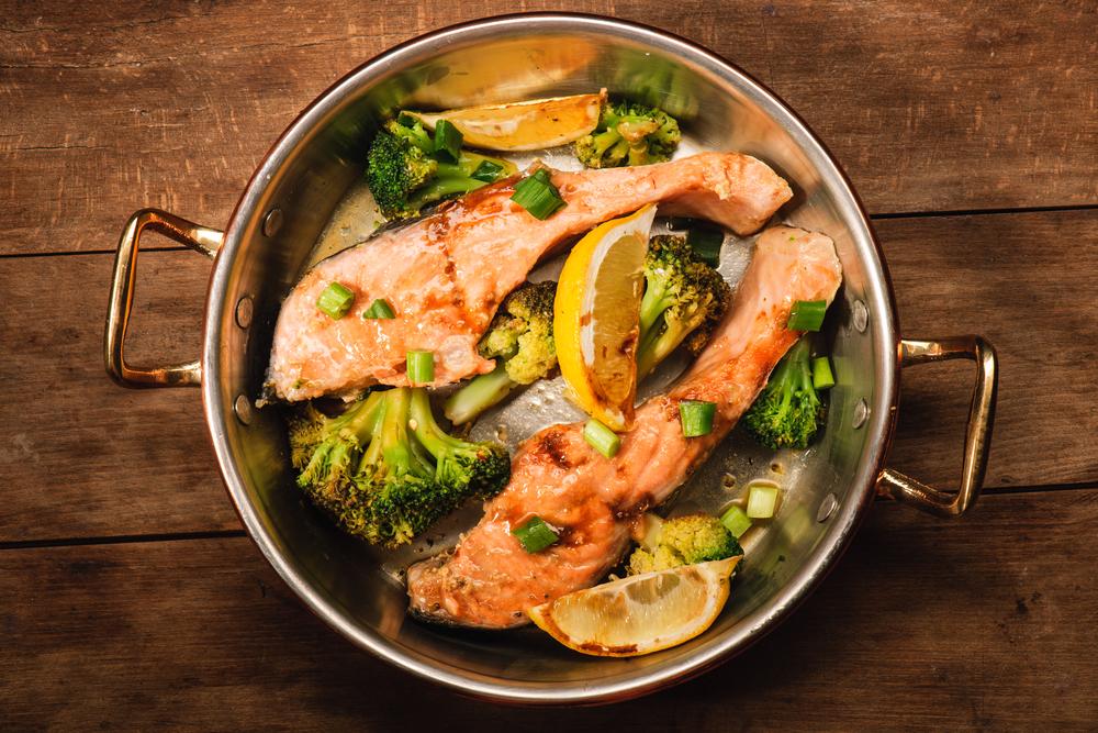 Besonders eine schonende Zubereitung des Fisches ist wichtig.
