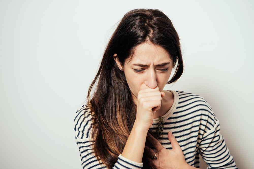 Husten und Halsschmerzen